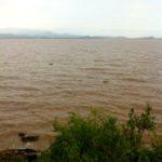 Lake Tana after rainfall
