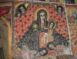 Tigray church painting